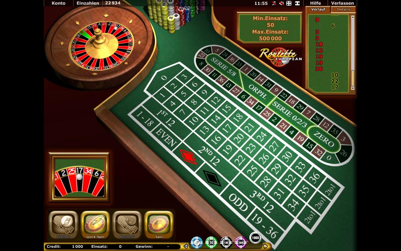 Roulette European Stargames